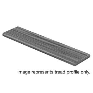 Cap A Tread Ashcombe Aged Oak 94 in. Length x 12-1/8 in. Deep x 1-11/16 in. Height Laminate Right Return to Cover Stairs 1 in. Thick-016141878 300116770