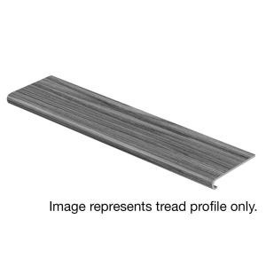 Cap A Tread Barnes Mill Oak 94 in. Length x 12-1/8 in. Deep x 1-11/16 in. Height Laminate to Cover Stairs 1 in. Thick-016041945 301112805
