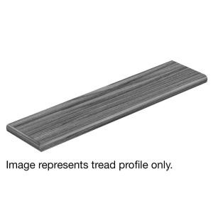 Cap A Tread Davenport Hickory 47 in. Length x 12-1/8 in. Deep x 1-11/16 in. Height Laminate Left Return to Cover Stairs 1 in. Thick-016274580 300956878