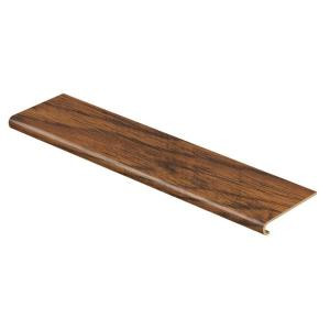 Cap A Tread Highland Hickory 47 in. Length x 12-1/8 in. Deep x 1-11/16 in. Height Laminate to Cover Stairs 1 in. Thick-016071538 203496699