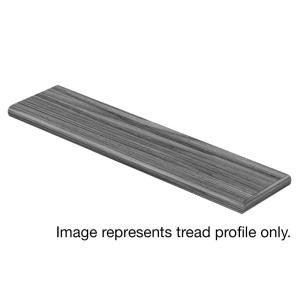Cap A Tread Weathered Oak 94 in. Length x 12-1/8 in. Deep x 1-11/16 in. Height Laminate Right Return to Cover Stairs 1 in. Thick-016141894 301008801