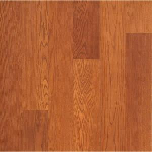 Hampton Bay Brasstown Oak Laminate Flooring - 5 in. x 7 in. Take Home Sample-HB-011348 203706688