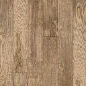 Hampton Bay Clayton Oak 12 mm Thick x 6-3/16 in. Wide x 50-1/2 in. Length Laminate Flooring (17.40 sq. ft. / case)-195147 203547119