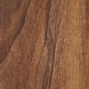 Hampton Bay Hand Scraped Walnut Plateau 8 mm Thick x 5-9/16 in. Wide x 47-3/4 in. Length Laminate Flooring (18.45 sq. ft. / case)-HL1003 202638004
