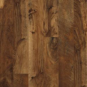 Hampton Bay Maple Grove Saffron 12 mm Thick x 6-3/16 in. Wide x 50-1/2 in. Length Laminate Flooring (17.40 sq. ft. / case)-195145 203547117