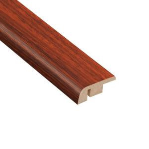 Home Legend High Gloss Brazilian Cherry 1/2 in. Thick x 1-1/4 in. Wide x 94 in. Length Laminate Carpet Reducer Molding-HL1013CR 203332502