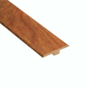 Home Legend High Gloss Natural Mahogany 1/4 in. Thick x 1-7/16 in. Wide x 94 in. Length Laminate T-Molding-HL92TM 202026332