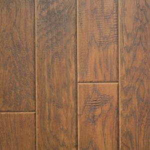 Innovations Henna Hickory 8 mm Thick x 11.52 in. Wide x 46.52 in. Length Click Lock Laminate Flooring (18.60 sq. ft. / case)-904069 203683355