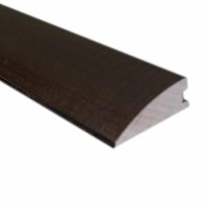 Maple Chocolate 3/4 in. Thick x 2-1/4 in. Wide x 78 in. Length Hardwood Flush-Mount Reducer Molding-LM6002 202103210