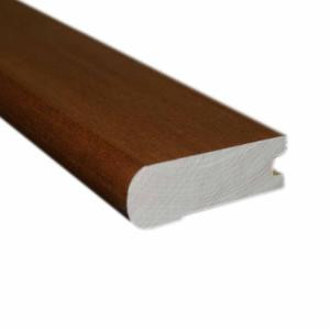 Oak Gunstock 0.81 in. Thick x 2-3/4 in. Wide x 78 in. Length Flush-Mount Stair Nose Molding-LM4396 202808439