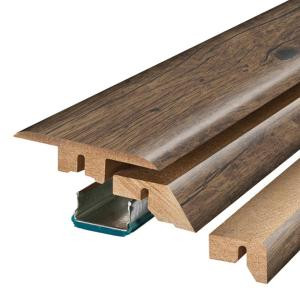 Pergo Rustic Grey Oak 3/4 in. Thick x 2-1/8 in. Wide x 78-3/4 in. Length Laminate 4-in-1 Molding-MG001296 300700954