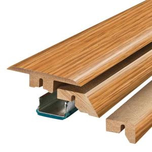 Pergo Sedona Oak 3/4 in. Thick x 2-1/8 in. Wide x 78-3/4 in. Length Laminate 4-in-1 Molding-MG001311 300700958