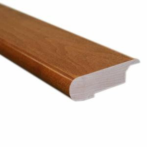 Vintage Maple Tawny Wheat 0.81 in. Thick x 3 in. Wide x 78 in. Length Hardwood Stair Nose Molding-LM6341 202103176