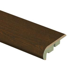 Zamma Auburn Scraped Oak 3/4 in. Thick x 2-1/8 in. Wide x 94 in. Length Laminate Stair Nose Molding-0137541811 206955226