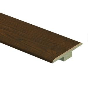 Zamma Auburn Scraped Oak 9/16 in. Thick x 1-3/4 in. Wide x 72 in. Length Laminate T-Molding-0137221811 206955224