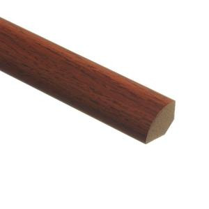 Zamma Brazilian Cherry 5/8 in. Thick x 3/4 in. Wide x 94 in. Length Laminate Quarter Round Molding-013141532 203286281