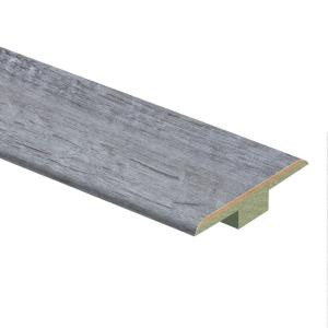 Zamma High Fashion Oak Grey 9/16 in. Thick x 1-3/4 in. Wide x 72 in. Length Laminate T-Molding-0137221760 206055833