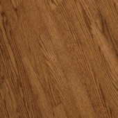 Bruce Bayport Oak Low Gloss Gunstock 3/4 in. Thick x 2-1/4 in. Wide x Varying Length Solid Hardwood Flooring (20 sq. ft./case)-CB1321LG 300514871