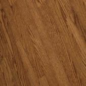 Bruce Bayport Oak Low Gloss Gunstock 3/4 in. Thick x 2-1/4 in. Wide x Varying Length Solid Hardwood Flooring (20 sq. ft./case)-CB1321LG 300514871