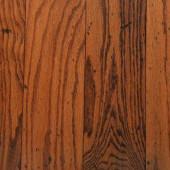 Bruce Distressed Oak Gunstock 3/8 in. Thick x 5 in. Wide Random Length Engineered Hardwood Flooring (25 sq. ft. / case)-AHS5011Z5P 202057416