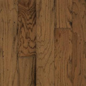 Bruce Take Home Sample - Distressed Oak Gunstock Engineered Hardwood Flooring - 5 in. x 7 in.-BR-057416 203190382