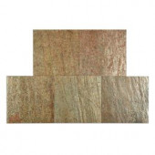 FastStone+ Copper 12 in. x 12 in. Slate Peel and Stick Wall Tile (5 sq. ft. / pack)-70-047-04-01 207041418