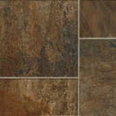 Hampton Bay Canyon Slate Clay 8 mm Thick x 15-5/8 in. Wide x 50-3/4 in. Length Laminate Flooring (22.11 sq. ft. / case)-195151 203547121