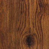 Hampton Bay Take Home Sample - Hand Scraped Oak Burnt Caramel Laminate Flooring- 5 in. x 7 in.-HB-064715 203190531