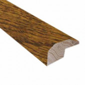 Heritage Mill Oak Old World Brown 0.88 in. Thick x 2 in. Wide x 78 in. Length Hardwood Carpet Reducer/ Baby T-Molding-LM6833 204111293