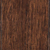 Home Decorators Collection Brushed Strand Woven Tobacco 3/8 in. Thick x 3-7/8 in. Wide x 36-1/4 in. Length Solid Bamboo Flooring (23.41 sq.ft./cs)-HL211 203520559