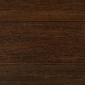 Home Decorators Collection Wire Brushed Strand Woven Cocoa Bean 3/8 in. T x 5-1/5 in. x 36.22 in. L Solid Bamboo Flooring (26.143 sq. ft. / case)-HL628S 300011071