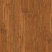 Home Legend Hand Scraped Strand Woven Autumn 3/8 in. Thick x 2-3/8 in. Wide x 36 in. Length Solid Bamboo Flooring (28.5 sq.ft./case)-HL273S 205392103
