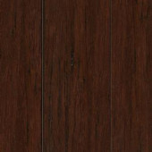 Home Legend Hand Scraped Strand Woven Hazelnut 3/8 in. Thick x 2-3/8 in. Wide x 36 in. Length Solid Bamboo Flooring (28.5 sqft/case)-HL274S 205392105