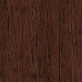 Home Legend Hand Scraped Strand Woven Mocha 3/8 in. Thick x 2-3/8 in. Wide x 36 in. Length Solid Bamboo Flooring (28.5 sq. ft./case)-HL275S 205392118