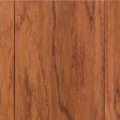 Home Legend Take Home Sample - Hand Scraped Oak Gunstock Engineered Hardwood Flooring - 5 in. x 7 in.-HL-110433 204306437