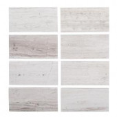Jeff Lewis 3 in. x 6 in. Honed Limestone Field Wall Tile (8-pieces / pack)-98462 207174603