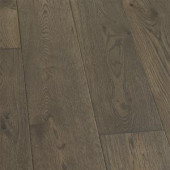 Malibu Wide Plank Take Home Sample - French Oak Baker Engineered Click Hardwood Flooring - 5 in. x 7 in.-HM-182562 300200241