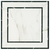 MARAZZI Developed by Nature Calacatta Deco 24 in. x 24 in. Glazed Porcelain Floor and Wall Tile (15.76 sq. ft. / case)-DN172424DCHD1P6 206660040