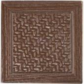 MARAZZI Montagna Bronze 2 in. x 2 in. Metal Resin Basketweave Decorative Floor/Wall Tile-UGAD 100646390