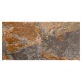 MARAZZI VitaElegante Ardesia 12 in. x 24 in. Porcelain Floor and Wall Tile (15.6 sq. ft. / case)-ULRV1224HD1PR 205473912