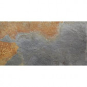 MS International Peacock 12 in. x 24 in. Gauged Slate Floor and Wall Tile (10 sq. ft. / case)-SMCLAS1224G 205762445
