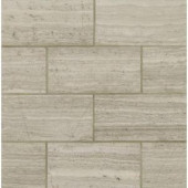 MS International White Oak 12 in. x 24 in. Polished Limestone Floor and Wall Tile (10 sq. ft. / case)-TWHTOAK12240.38P 203163229