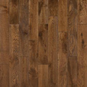 Nuvelle Take Home Sample - French Oak Congac Click Solid Hardwood Flooring - 5 in. x 7 in.-SC-632825 300234476