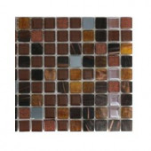 Splashback Tile Capriccio Campobasso Glass Mosaic Floor and Wall Tile - 3 in. x 6 in. x 8 mm Tile Sample-L2B9 GLASS TILE 204278945
