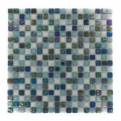 Splashback Tile Capriccio Scafati 12 in. x 12 in. x 8 mm Glass Mosaic Floor and Wall Tile-CAPRICCIO SCAFATI GLASS TILE 204279043