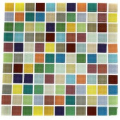 Splashback Tile Fruit Splash 12 in. x 12 in. x 8 mm Glass Floor and Wall Tile-FRUIT SPLASH 1X1 GLASS TILES 203288465