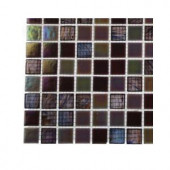 Splashback Tile Rainbow Fish Glass Mosaic Floor and Wall Tile - 3 in. x 6 in. x 8 mm Tile Sample-R3B11 GLASS TILE 203288353
