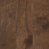 Take Home Sample - Franklin Coffee Bean Hickory 3/4 in. Thick x 3-1/4 in. Wide Solid Hardwood - 5 in. x 7 in.-UN-857049 205958139