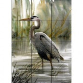 The Tile Mural Store First Light 12-3/4 in. x 17 in. Ceramic Mural Wall Tile-15-459-1217-4C 205842704