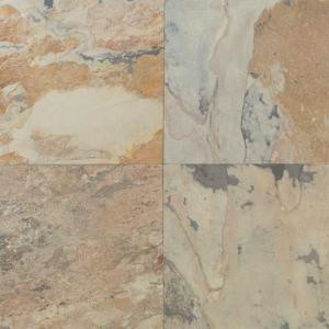Daltile Natural Stone Collection Autumn Mist 16 in. x 16 in. Slate Floor and Wall Tile (10.68 sq. ft. / case)-S77216161P 202646839